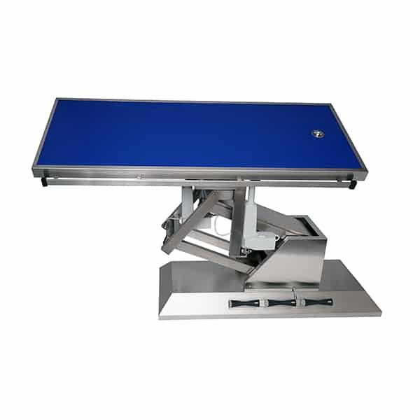 TA703101 Table chirurgie plateau Radiologie 1 évacuation 1400x530 (Proclive - déclive électrique) inclinaison 3e sens N2