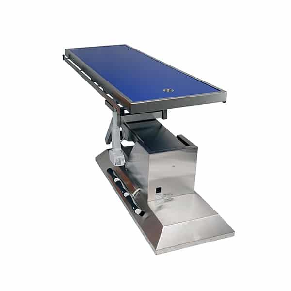 TA703101 Table chirurgie plateau Radiologie 1 évacuation 1400x530 (Proclive - déclive électrique) inclinaison 3e sens N4