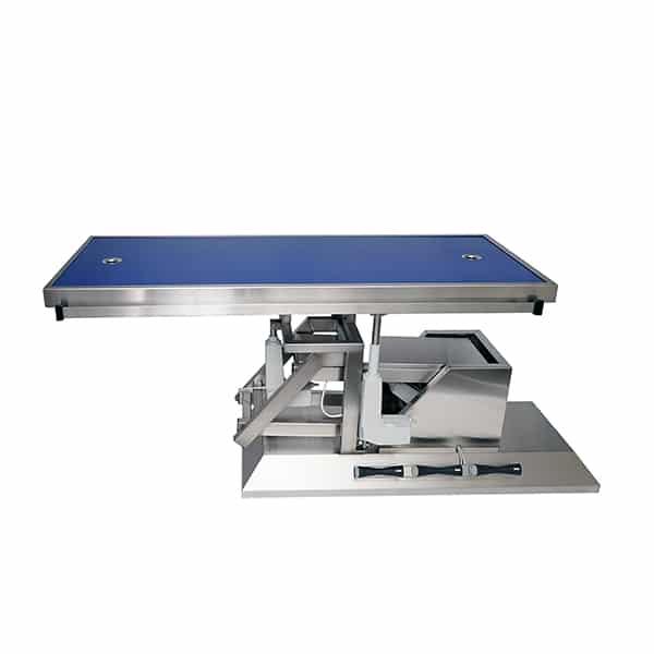 TA703105 Table chirurgie plateau Radiologie 2 évacuations 1400x530 (Proclive - déclive électrique) inclinaison 3e sens N1