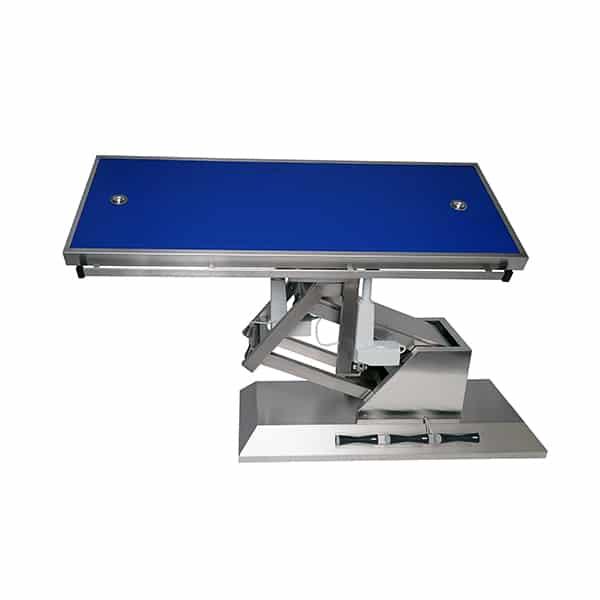 TA703105 Table chirurgie plateau Radiologie 2 évacuations 1400x530 (Proclive - déclive électrique) inclinaison 3e sens N2