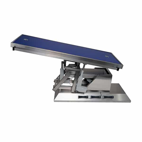 TA703105 Table chirurgie plateau Radiologie 2 évacuations 1400x530 (Proclive - déclive électrique) inclinaison 3e sens N3