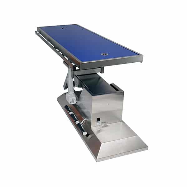 TA703105 Table chirurgie plateau Radiologie 2 évacuations 1400x530 (Proclive - déclive électrique) inclinaison 3e sens N4