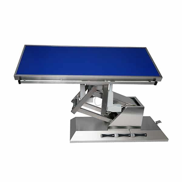TA703110 Table chirurgie plateau Radiologie plat 4 roues 1400x530 (Proclive - déclive électrique) inclinaison 3e sens N2