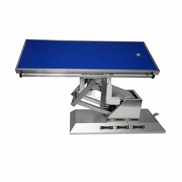 TA703111 Table chirurgie plateau Radiologie 1 évac 4 roues 1400x530 (Proclive - déclive électrique) 3e sens N2