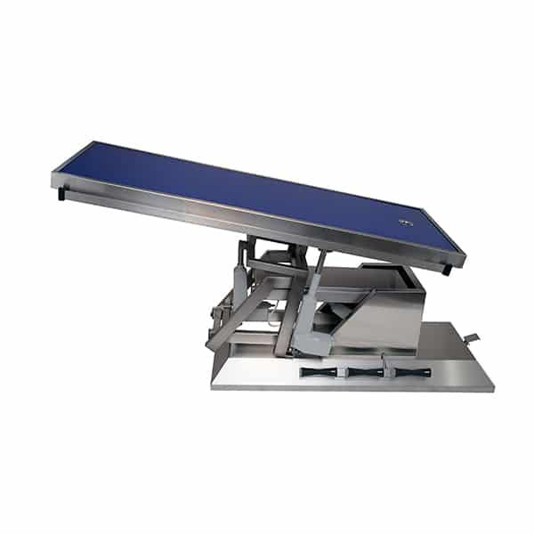 TA703111 Table chirurgie plateau Radiologie 1 évac 4 roues 1400x530 (Proclive - déclive électrique) 3e sens N3