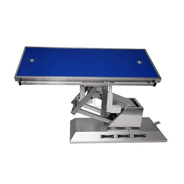 TA703115 Table chirurgie plateau Radiologie 2 évac 4 roues 1400x530 (Proclive - déclive électrique) 3e sens N2