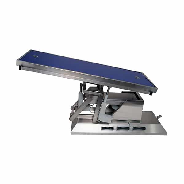 TA703115 Table chirurgie plateau Radiologie 2 évac 4 roues 1400x530 (Proclive - déclive électrique) 3e sens N3