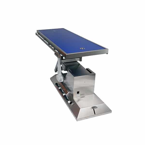 TA703115 Table chirurgie plateau Radiologie 2 évac 4 roues 1400x530 (Proclive - déclive électrique) 3e sens N4