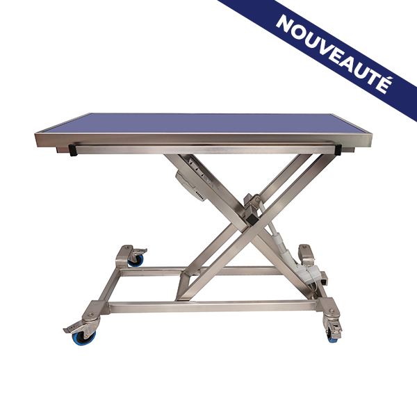 Elite stretcher table with radiology tray