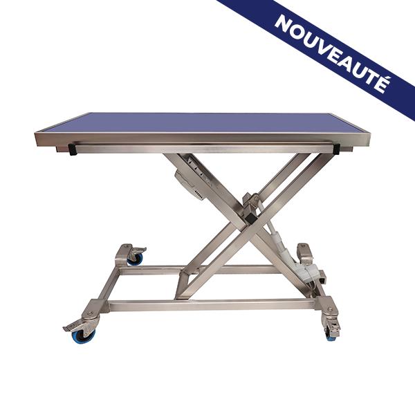 Table brancard elite avec plateau de radiologie