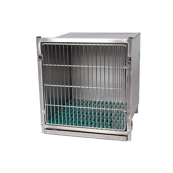 Stainless steel cage – Format B – with stainless steel grid door