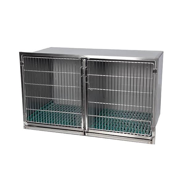 CI200020 Cage inox C porte grille inox L1405 H830 P690 (1)