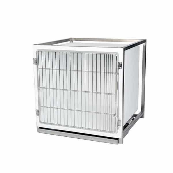 Polyester cage – Format B – with stainless steel grid door