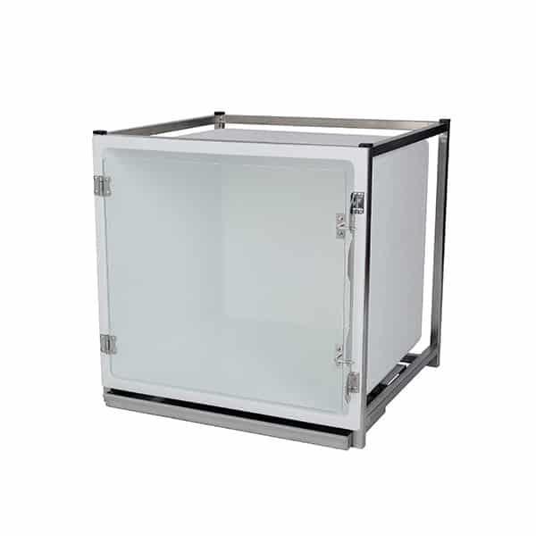 Cage polyester – Format B – avec porte en verre
