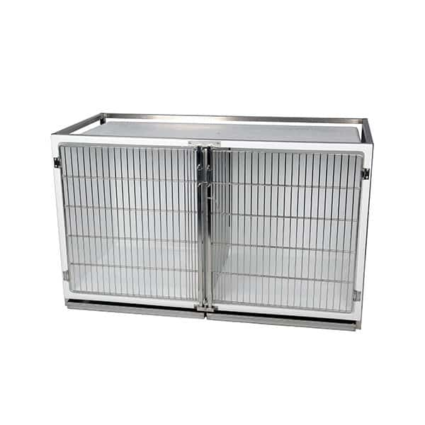 Polyester cage – C format – with stainless steel grid door