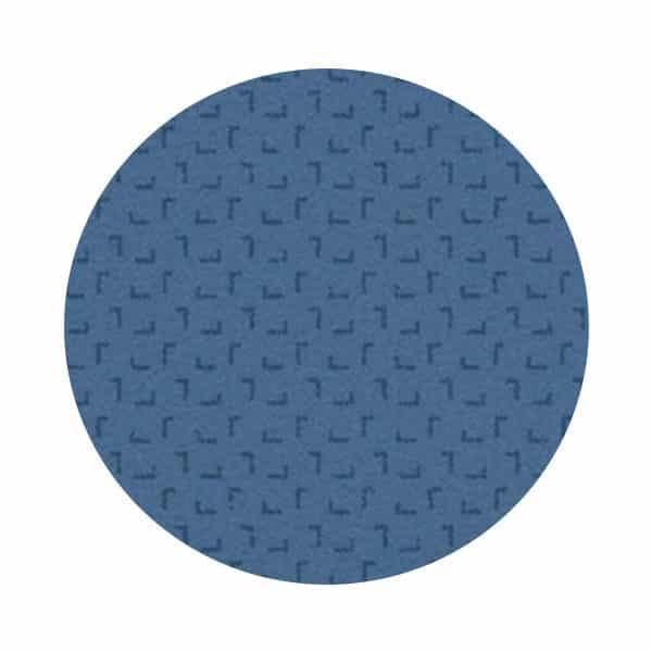 Tapis Dark Blue à motifs pour table de consultation – Série TA400