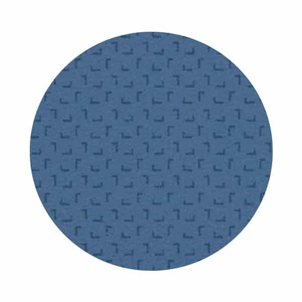 tapis dark blue a motif