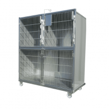 set of veterinary cages